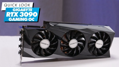 Gigabyte RTX3090 GAMING OC 24G - Quick Look